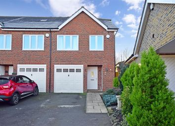 Thumbnail 3 bed end terrace house for sale in Fletcher Gardens, Snodland, Kent
