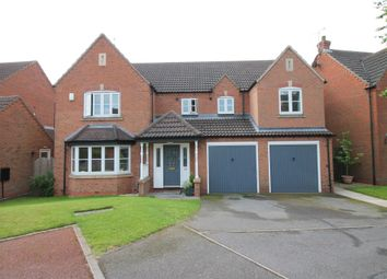 Thumbnail 6 bed detached house for sale in Maple Drive, Harlow Wood, Mansfield