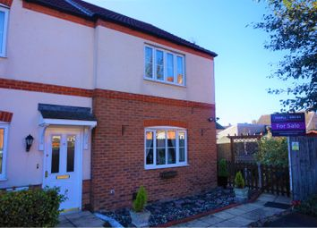 Thumbnail 2 bed end terrace house for sale in Copperfields, Wisbech