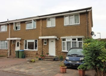 Thumbnail 3 bed end terrace house for sale in Fleetside, West Molesey