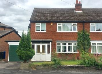 Thumbnail 3 bed property to rent in Kitts Moss Lane, Bramhall, Stockport