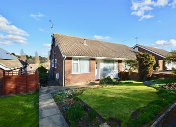 Thumbnail 3 bed semi-detached bungalow for sale in Edgehill Gardens, Istead Rise, Gravesend