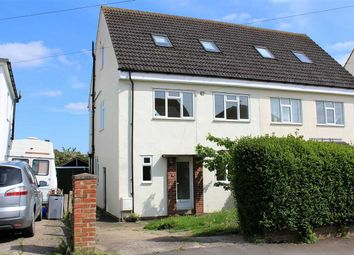Thumbnail 4 bed semi-detached house for sale in Keppel Avenue, Haversham, Milton Keynes