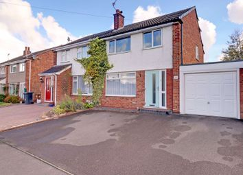 Thumbnail 3 bed semi-detached house for sale in Chadswell Heights, Lichfield, Staffordshire