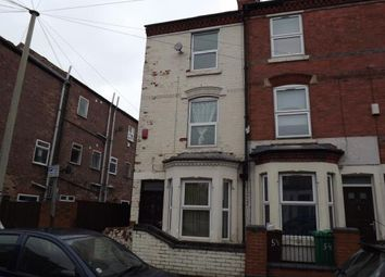 Thumbnail 4 bed end terrace house for sale in Wimbourne Road, Nottingham