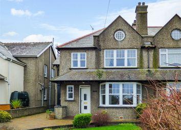 Thumbnail 5 bed semi-detached house for sale in Lon Penrhos, Morfa Nefyn, Pwllheli, Gwynedd