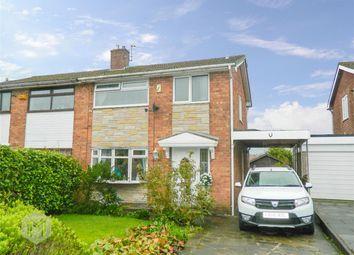 Thumbnail 3 bedroom semi-detached house for sale in Chiltern Drive, Tonge Fold, Bolton, Lancashire