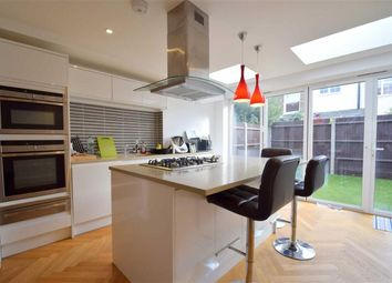 Thumbnail 4 bed semi-detached house to rent in Derby Road, Wimbledon