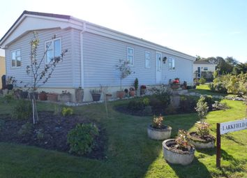 Thumbnail 2 bed mobile/park home for sale in Larkfield Close, Foxhole