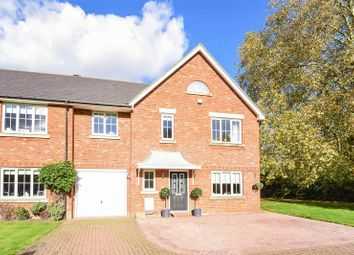 Thumbnail 5 bed end terrace house for sale in Hine Close, Epsom