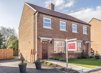 Thumbnail 2 bed semi-detached house for sale in Churchfields, Green Hammerton, York