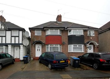 Thumbnail 3 bedroom semi-detached house for sale in Tudor Court South, Wembley