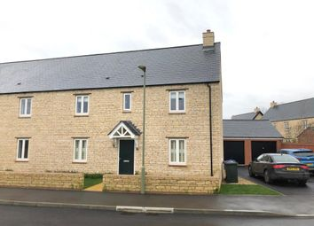 Thumbnail 4 bed semi-detached house for sale in Penrose Gardens, Chesterton, Oxfordshire