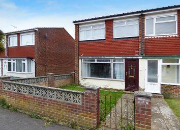 Thumbnail 3 bedroom semi-detached house for sale in Colebrook Road, Wick, Littlehampton