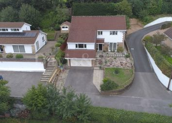 Thumbnail 4 bed detached house for sale in Blackthorn Court, Dranllwyn Close, Machen, Caerphilly.