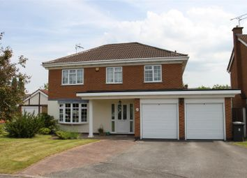 Thumbnail 4 bed detached house for sale in Gleneagles Close, Mickleover, Derby