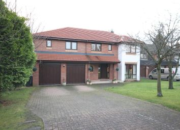 Thumbnail 5 bed detached house for sale in Grieve Croft, Bothwell, Glasgow