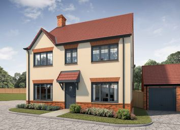 Thumbnail 4 bed detached house for sale in Challow Road, Wantage