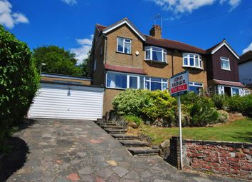 Thumbnail 4 bed semi-detached house for sale in Bradmore Way, Coulsdon
