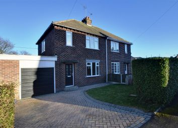 Thumbnail 3 bed semi-detached house for sale in West Crescent, Oxspring, Sheffield, South Yorkshire