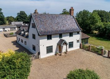 Thumbnail 4 bed detached house for sale in Hoxne Road, Weybread, Diss, Norfolk