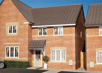 Thumbnail 2 bed semi-detached house for sale in Hunter Close, Calne