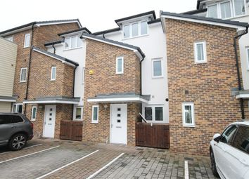 Thumbnail 3 bed terraced house to rent in Pyle Close, Addlestone, Surrey