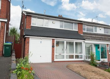 Thumbnail 3 bed semi-detached house for sale in Linden Avenue, Great Barr, Birmingham