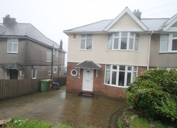 Thumbnail 3 bedroom semi-detached house for sale in Eastfield Crescent, Plymouth