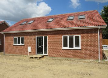 Thumbnail 3 bedroom chalet for sale in Wright Close, Great Ellingham, Attleborough