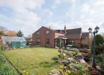 Thumbnail 4 bed detached house for sale in Low Street, Weasenham, King's Lynn