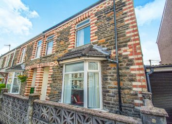Thumbnail 4 bed end terrace house for sale in Laurel Court, Church Street, Bedwas, Caerphilly