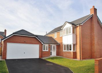 Thumbnail 4 bed detached house for sale in Alder Close, Alltami Road, Mold