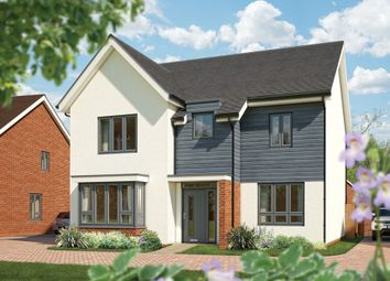 "Thumbnail 5 bed detached house for sale in ""The Birch"" at Fields Road, Wootton, Bedford"