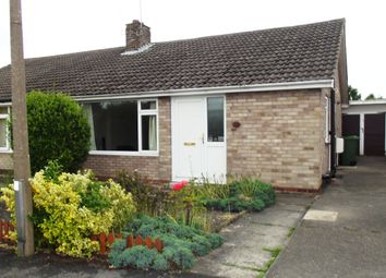 Thumbnail 2 bedroom bungalow for sale in Runswick Avenue, Off Beckfield Lane, York