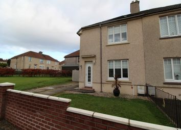 Thumbnail 2 bed semi-detached house for sale in Faskine Avenue, Airdrie, North Lanarkshire