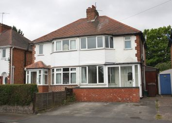 Thumbnail 3 bedroom semi-detached house to rent in Rock Road, Olton, Solihull