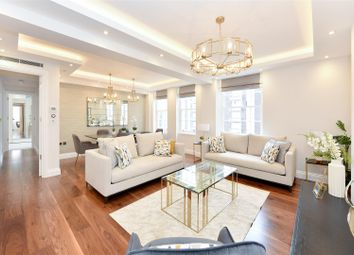 Thumbnail 3 bed flat for sale in Portman Square, London