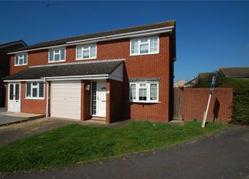 Thumbnail 3 bed semi-detached house for sale in Rye Close, Hornchurch