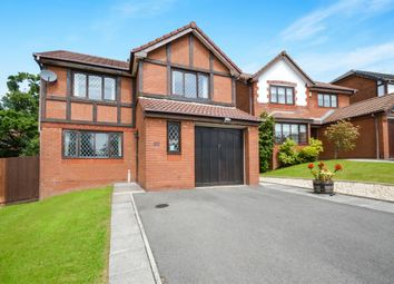 Thumbnail 4 bed detached house for sale in Parc Plas, Blackwood