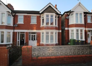 Thumbnail 3 bed terraced house for sale in Pentyrch Street, Cathays, Cardiff
