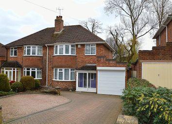 Thumbnail 3 bed semi-detached house for sale in Chamberlain Road, Kings Heath, Birmingham