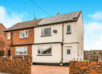 Thumbnail 2 bedroom semi-detached house for sale in Cornwall Crescent, Rothwell, Leeds