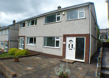 Thumbnail 3 bed semi-detached house to rent in Llangyfelach Road, Swansea
