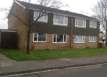 Thumbnail 1 bed flat to rent in Harewood Crescent, Whitley Bay
