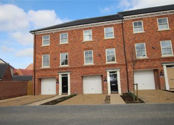 Thumbnail 4 bed town house for sale in St Georges Place, Sprowston, Norfolk