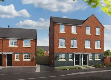 Thumbnail 4 bed semi-detached house for sale in Commercial Road, Hanley, Stoke-On-Trent
