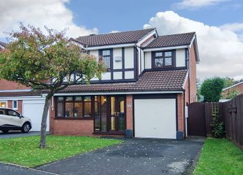 Thumbnail 4 bedroom detached house for sale in The Parkway, Rushall, Walsall
