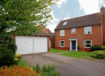 Thumbnail 6 bed detached house for sale in Humphries Drive, Brackley