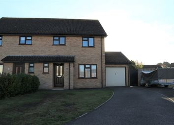 Thumbnail 3 bed semi-detached house for sale in Poppy Close, Christchurch